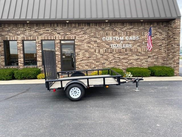2018 Carry-On 6' x 8'  Flatbed Trailer