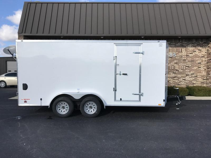 2021 Cargo Mate 7' x 16'  Enclosed Cargo Trailer