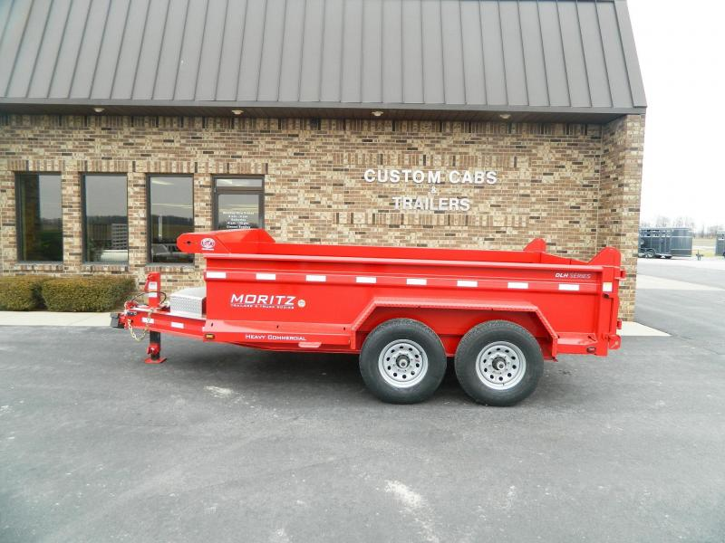 "2021 Moritz International 6'10"" x 12'  Dump Trailer"