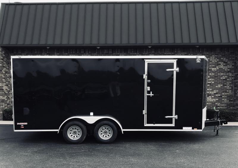 2021 Cargo Mate EHW718TA2 Enclosed Cargo Trailer