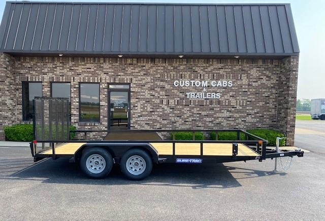 2020 Sure-Trac 7' x 16'  Flatbed Trailer
