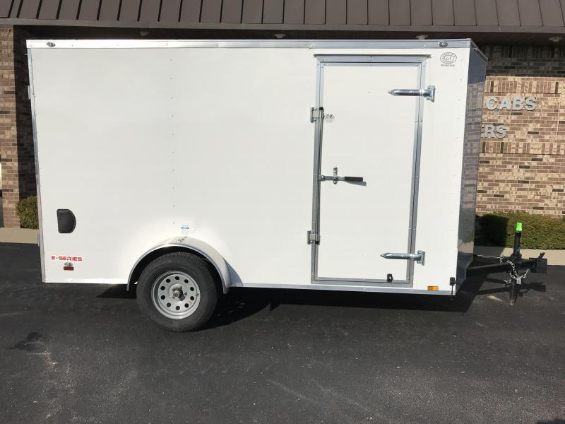 2021 Cargo Mate 6' x 12'  Enclosed Cargo Trailer