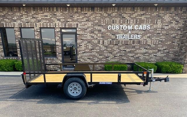 2021 Sure-Trac 7' x 12' Flatbed Trailer
