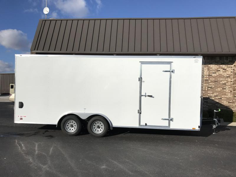 2021 Cargo Mate 8' X 20'  Enclosed Cargo Trailer