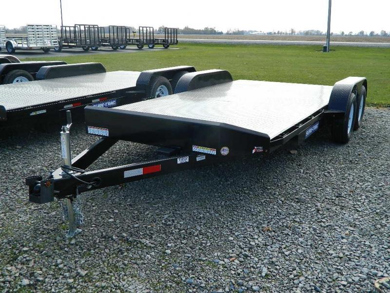 2021 Sure-Trac 20' Steel Floor Car Trailer