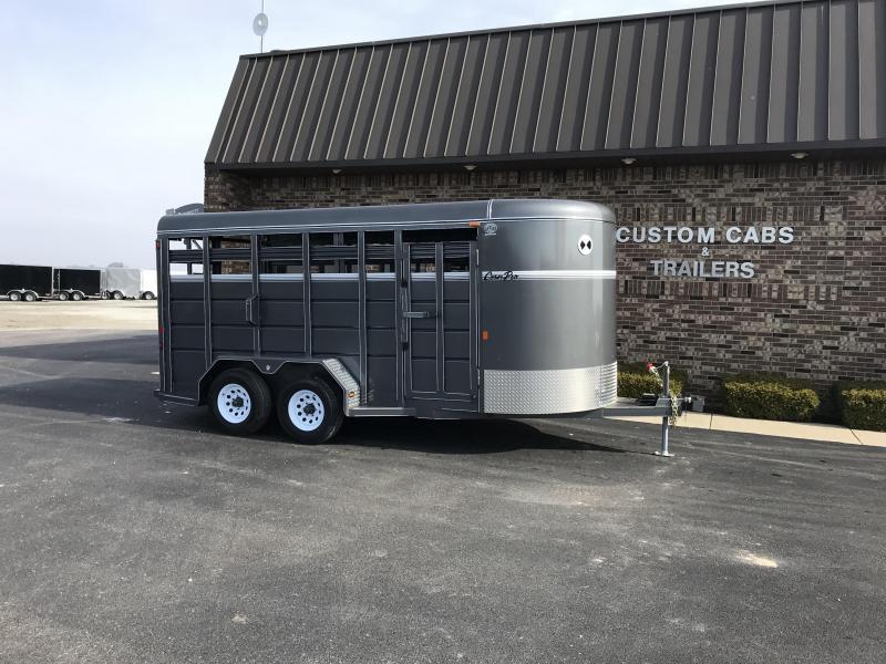2021 CornPro SB-16 7S Livestock Trailer