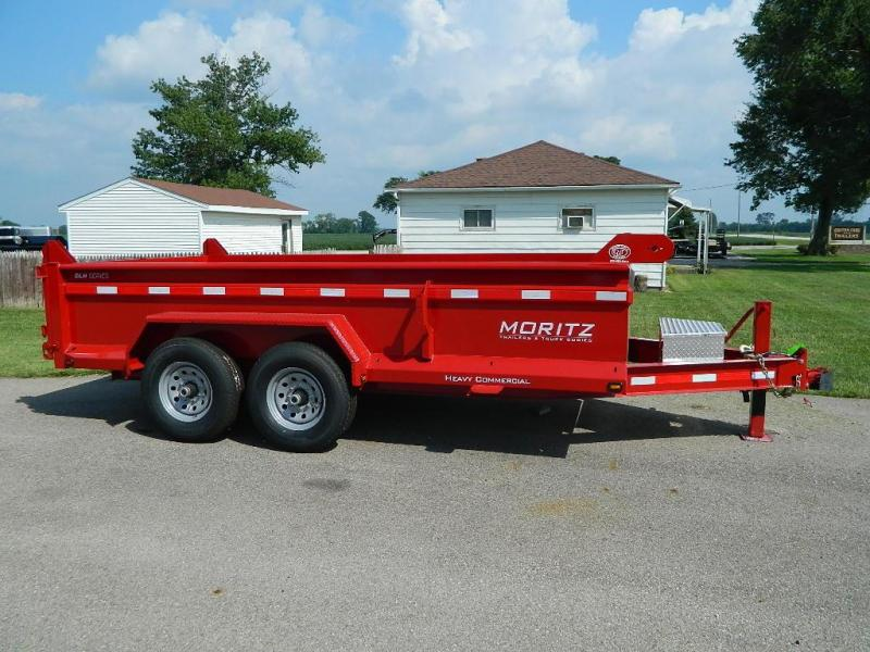 "2020 Moritz International 6'10"" x 14'  Dump Trailer"