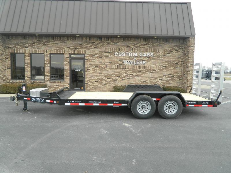 2021 Moritz International 18' UT 7K  AR Flatbed Trailer