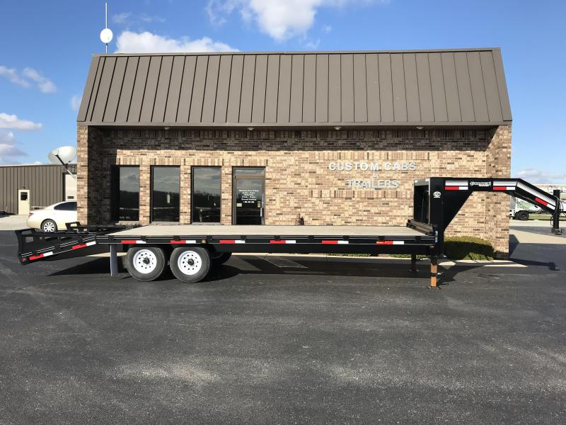 2021 Golden 20' + 5'  7K Flatbed Trailer