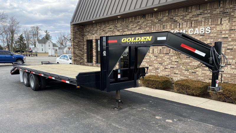 2020 Golden 20' + 5'  10K Equipment Trailer