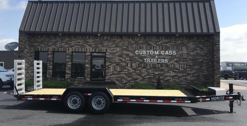 2020 Moritz International 22' UT 8K AR Flatbed Trailer