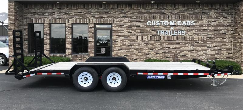 2020 Sure-Trac 20' UT 7K  Equipment Trailer  14K