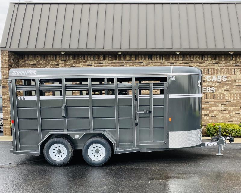 2021 CornPro SB-16 6S Livestock Trailer