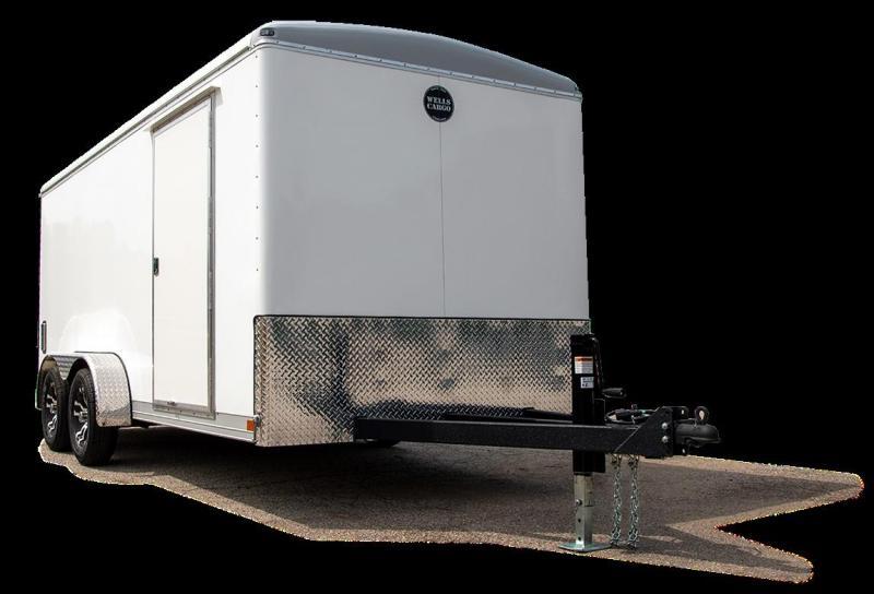 2021 Wells Cargo WHD714T2 Landscape / Cargo Trailer