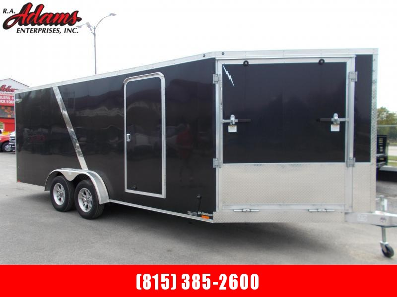 2019 Lightning LTFES718TA2 Snowmobile Trailer