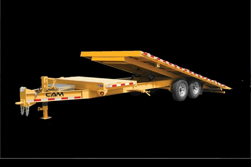 2021 Cam P7CAM824DOSTT Equipment Trailer