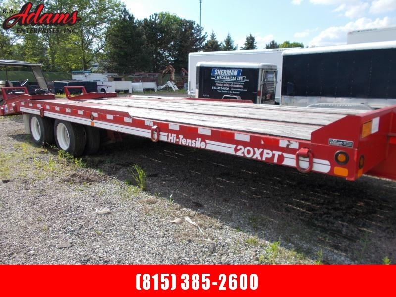 2014 Eager Beaver 20XPT Flatbed Trailer Equipment Trailer