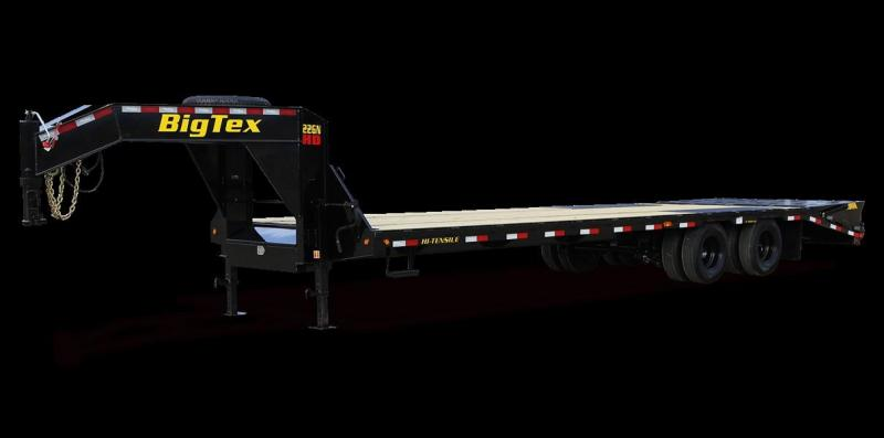 2022 Big Tex 22GN-25+5 Equipment Trailer