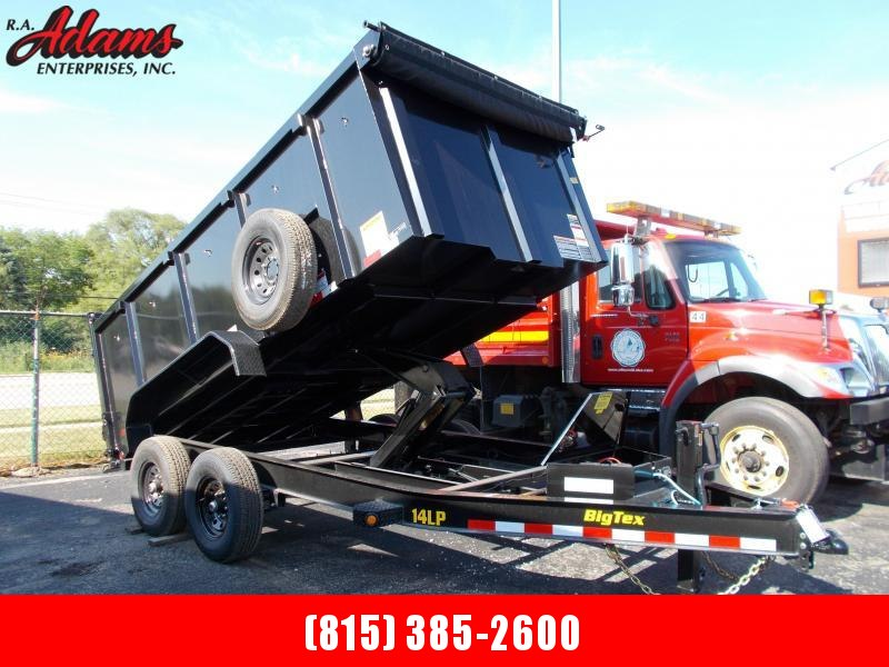 2021 Big Tex 14LP-14-P4 Dump Trailer