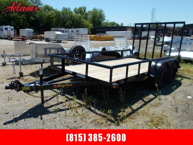2020 Big Tex 70PI-14X Utility Trailer