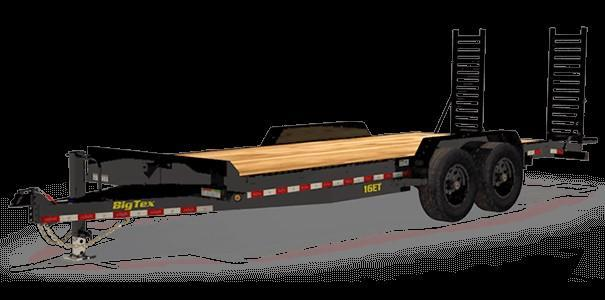 2021 Big Tex 16ET-17+3 Equipment Trailer