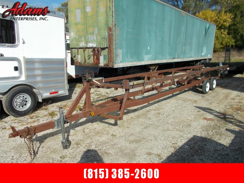 1988 Hoosier MISCBOAT Pontoon Boat Trailer