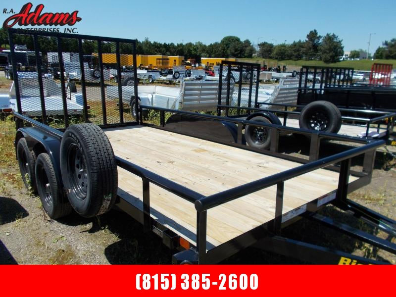 2020 Big Tex 70PI-16X Utility Trailer