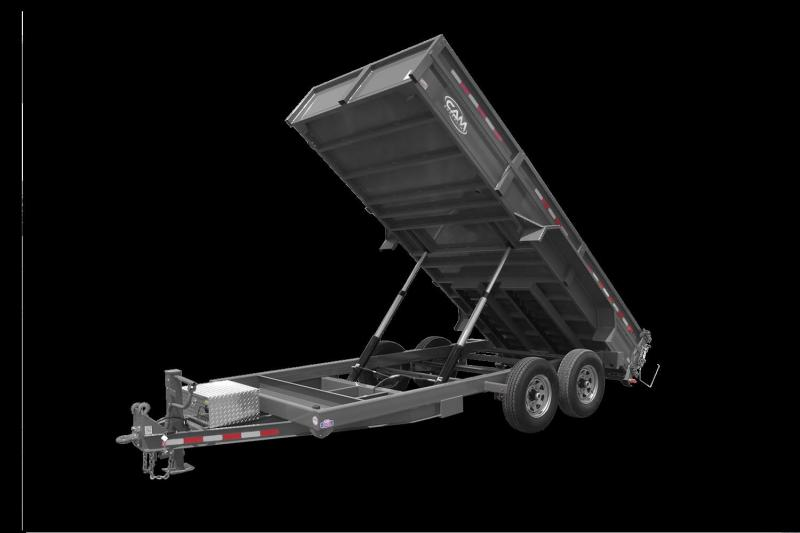 2021 Cam P7CAM616LPHD Dump Trailer