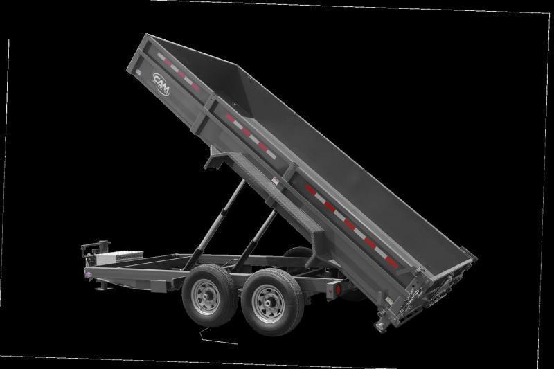 2021 Cam P7CAM614LPHD Dump Trailer