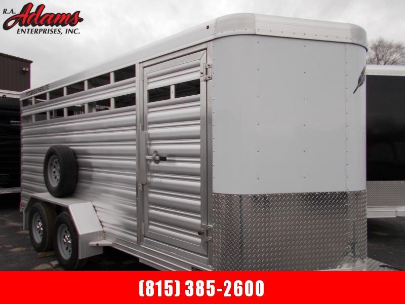 2021 Featherlite FL8107-16 Livestock Trailer