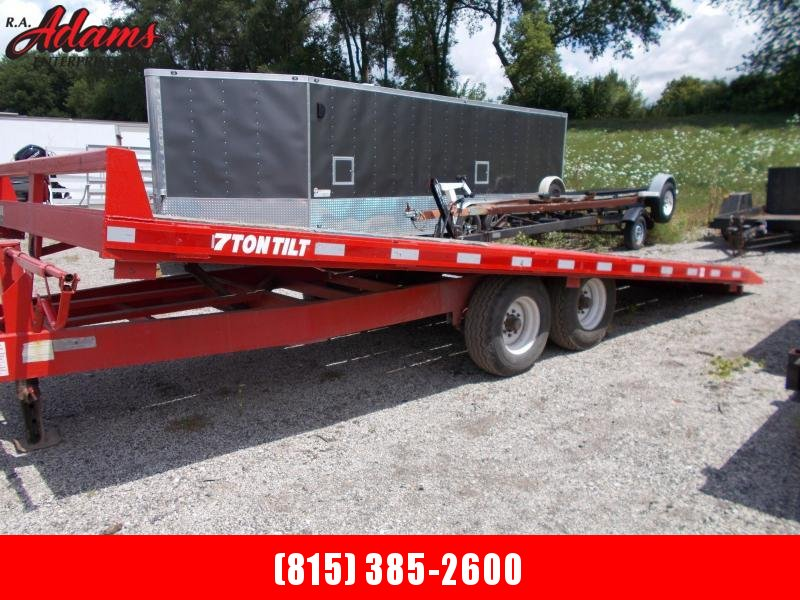 2013 Econoline Tiltbed Deckover Equipment Trailer