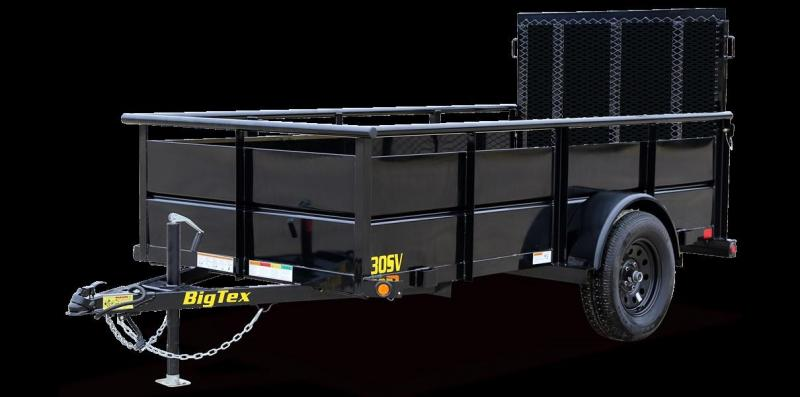 2021 Big Tex 30SV-8 Utility Trailer