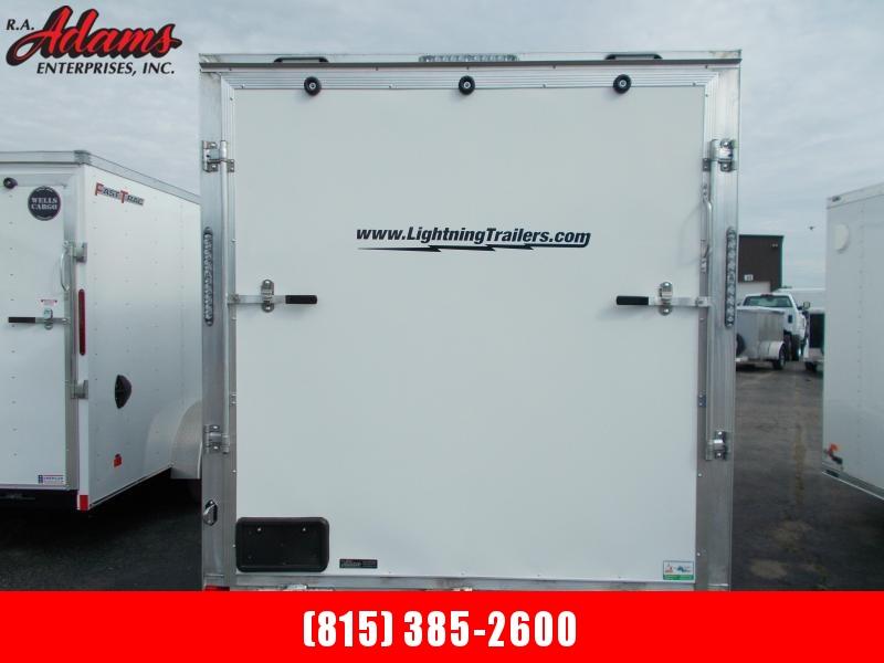 2021 Lightning LTFES718TA2 Snowmobile Trailer