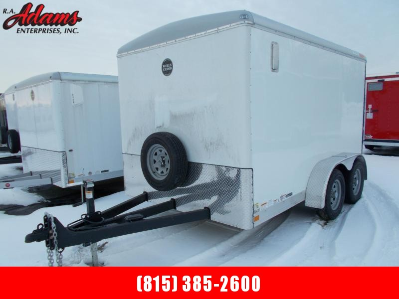2021 Wells Cargo WHD712T2 Landscape / Cargo Trailer