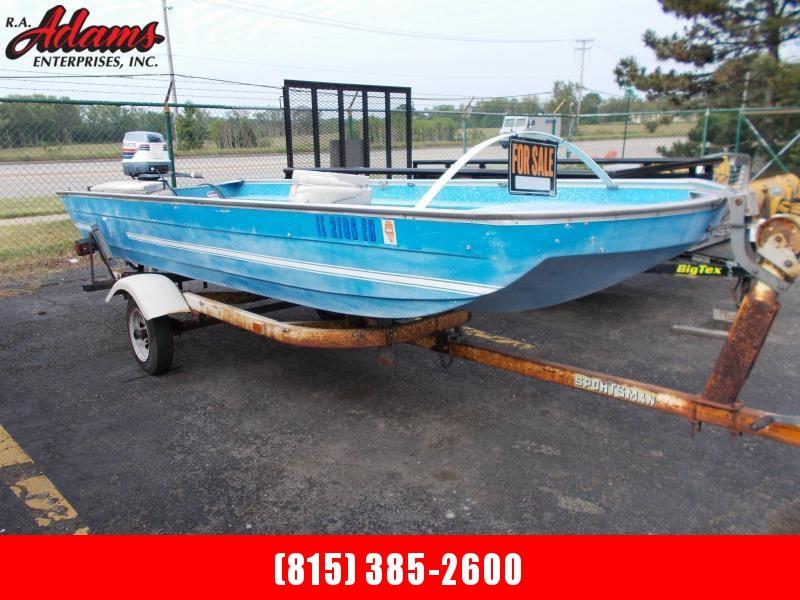 1977 Tuffy 154 Fishing Boat