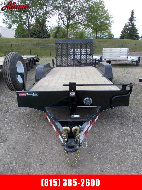 2021 Mac-Lander 18TSLWB Equipment Trailer