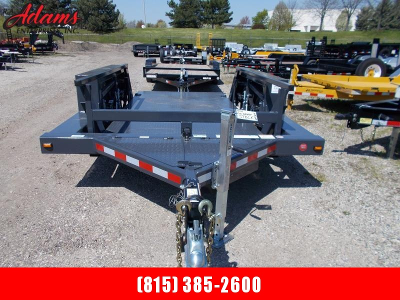 2020 JLG 1014 HYDRAULIC FLATBED TRAILER