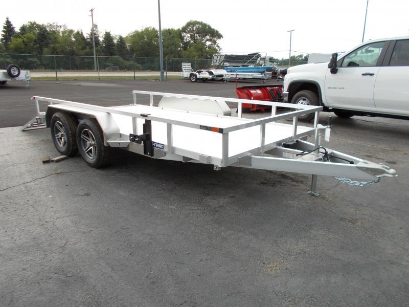 2021 Sure-Trac ST8214TAT-A-070 Utility Trailer
