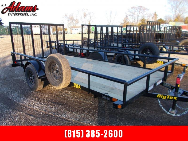2021 Big Tex 35SA-14 Utility Trailer