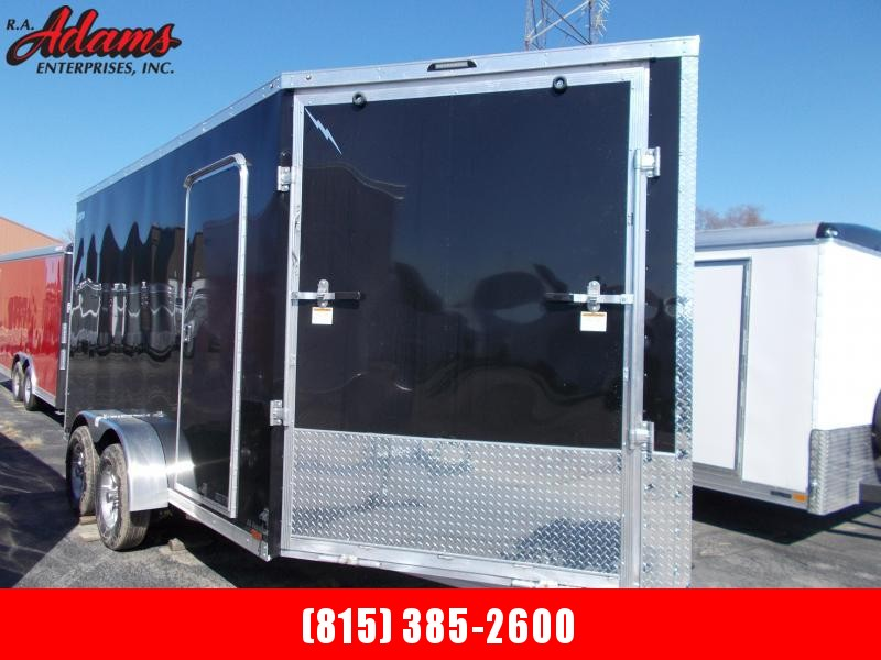 2022 Lightning LTFES714TA2 Snowmobile Trailer