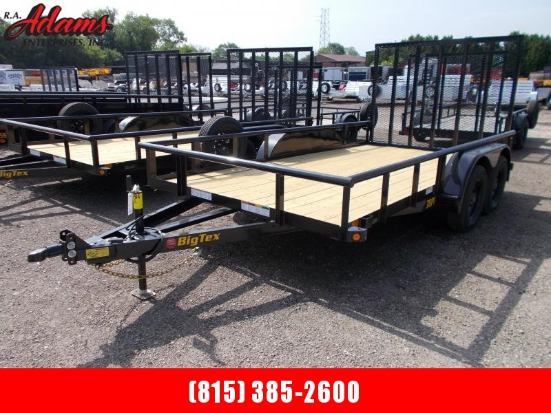 2021 Big Tex 70PI-14X Utility Trailer