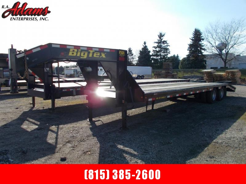 2014 Big Tex 25GN-25+5 Equipment Trailer
