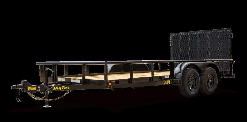 2021 Big Tex 70PI-20X Utility Trailer