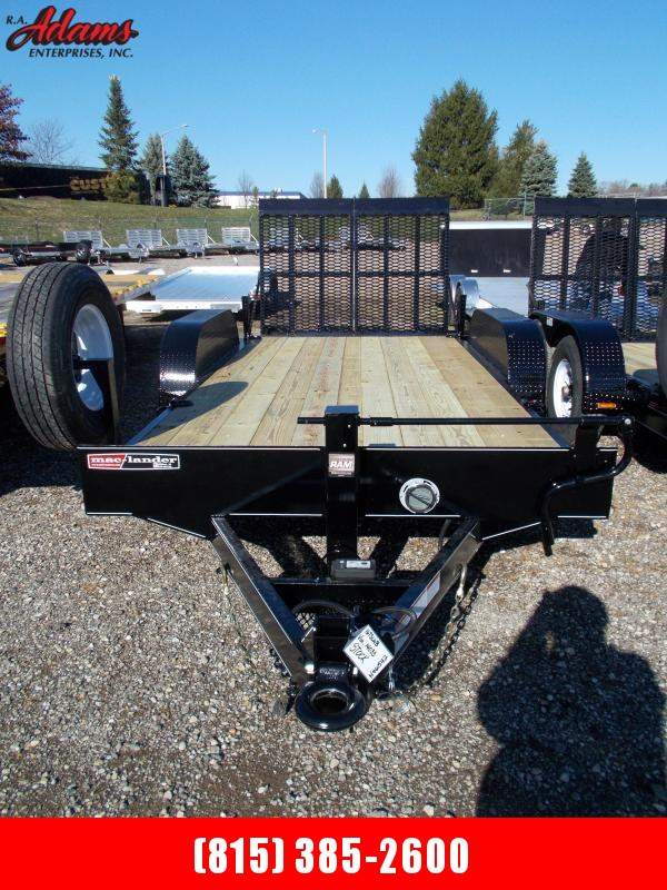 2020 Mac-Lander 16TSLWB Equipment Trailer