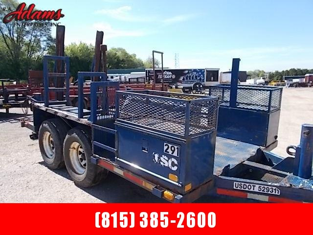 1987 Dillon Equipment Trailer