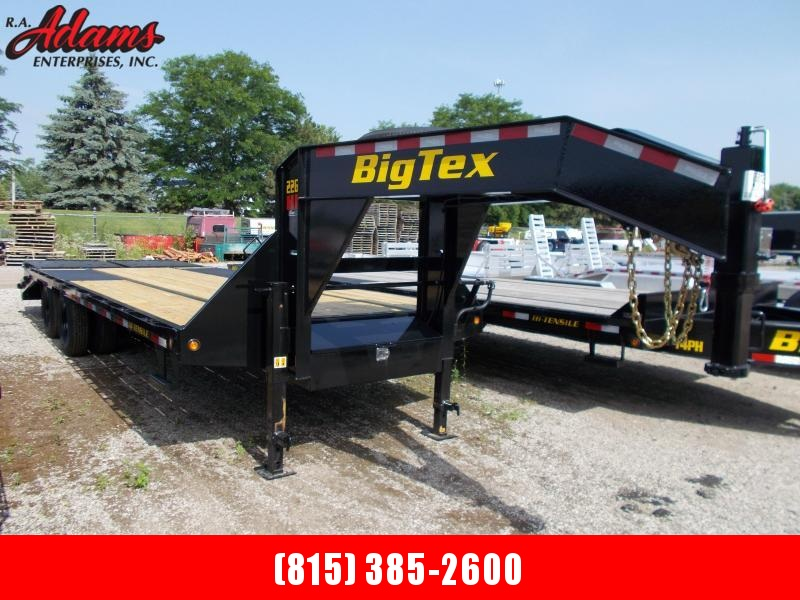 2021 Big Tex 22GN-20+5 Equipment Trailer