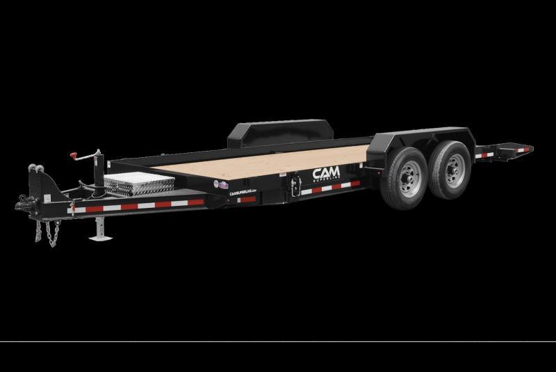2021 Cam P8CAM18FTT Equipment Trailer