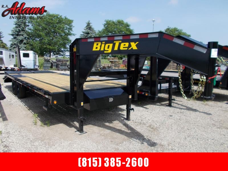 2021 Big Tex 14GN-20+5 Equipment Trailer