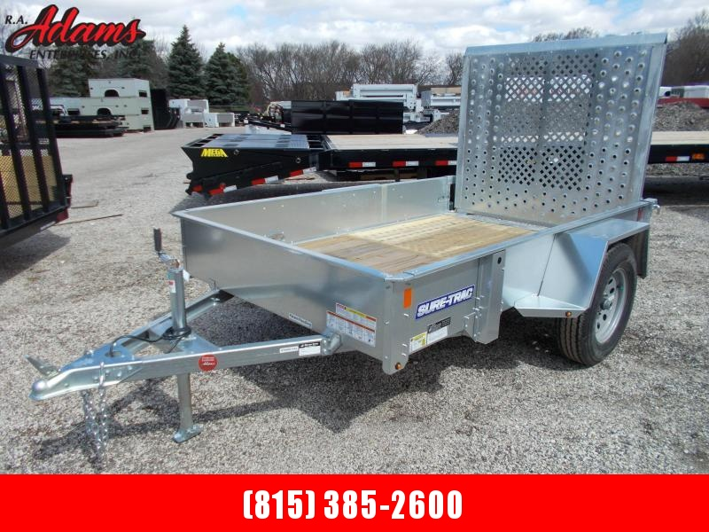 2018 Sure-Trac ST6008-GAL Utility Trailer