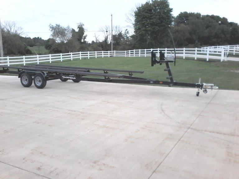 2021 Yacht Club PB2456TG Pontoon Boat Trailer